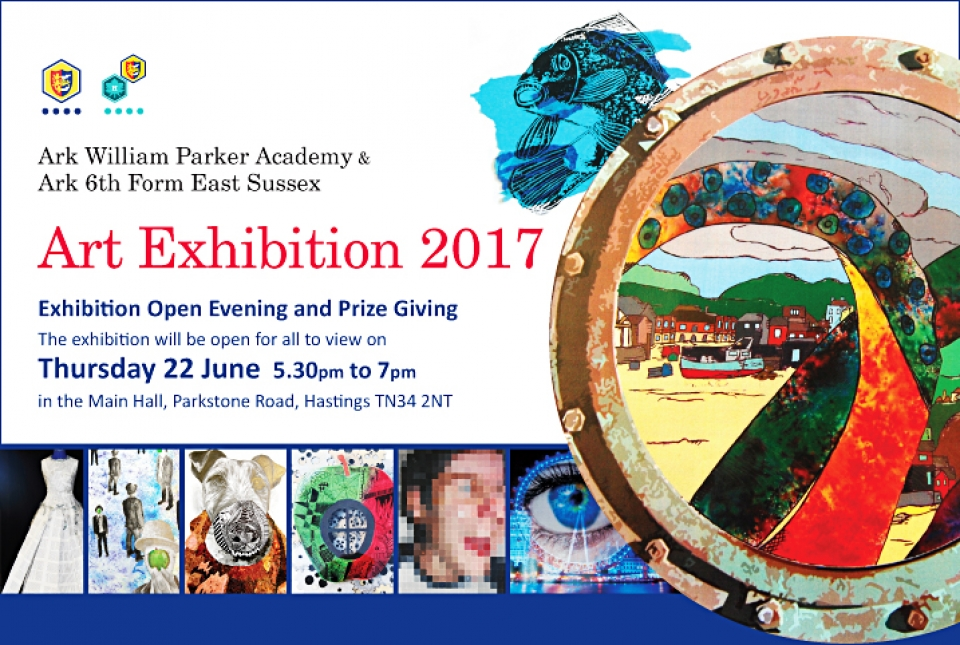 An Invitation To Our Art Exhibition Ark William Parker Academy