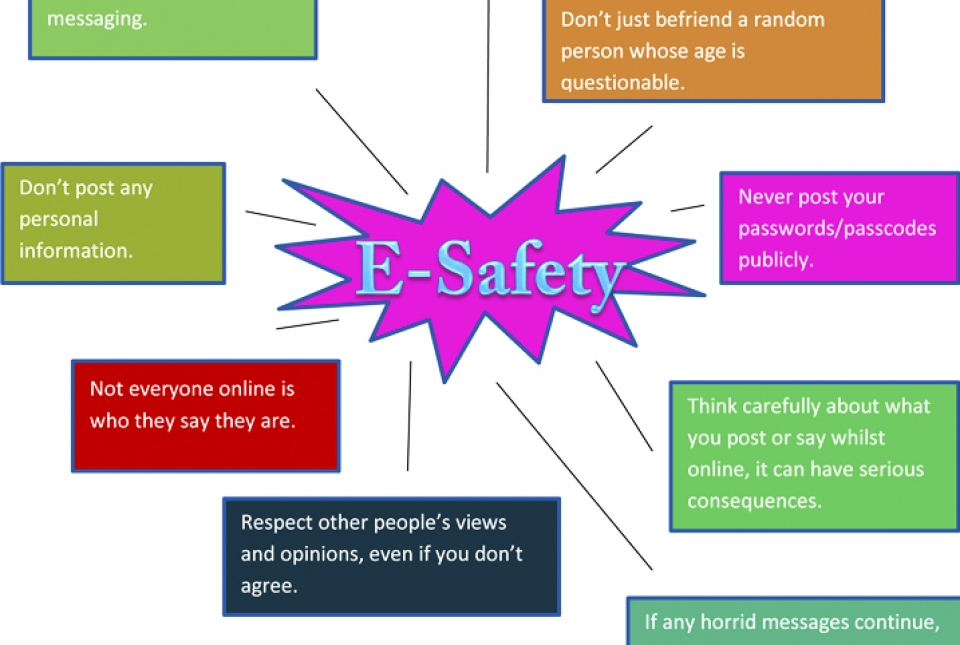 Talented students create fantastic posters to raise e-safety ...