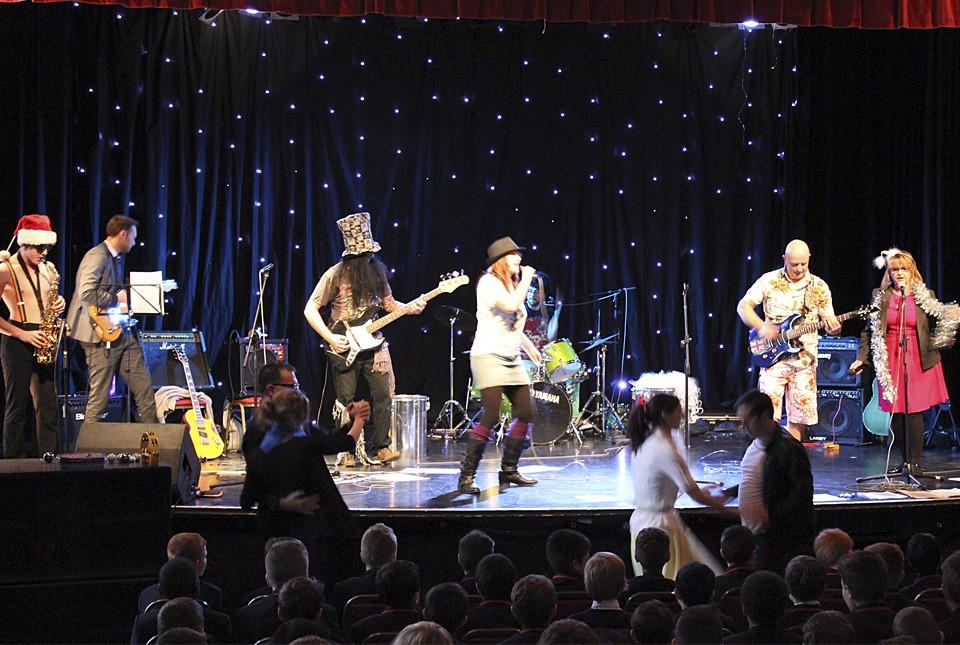 Christmas show in Hastings school