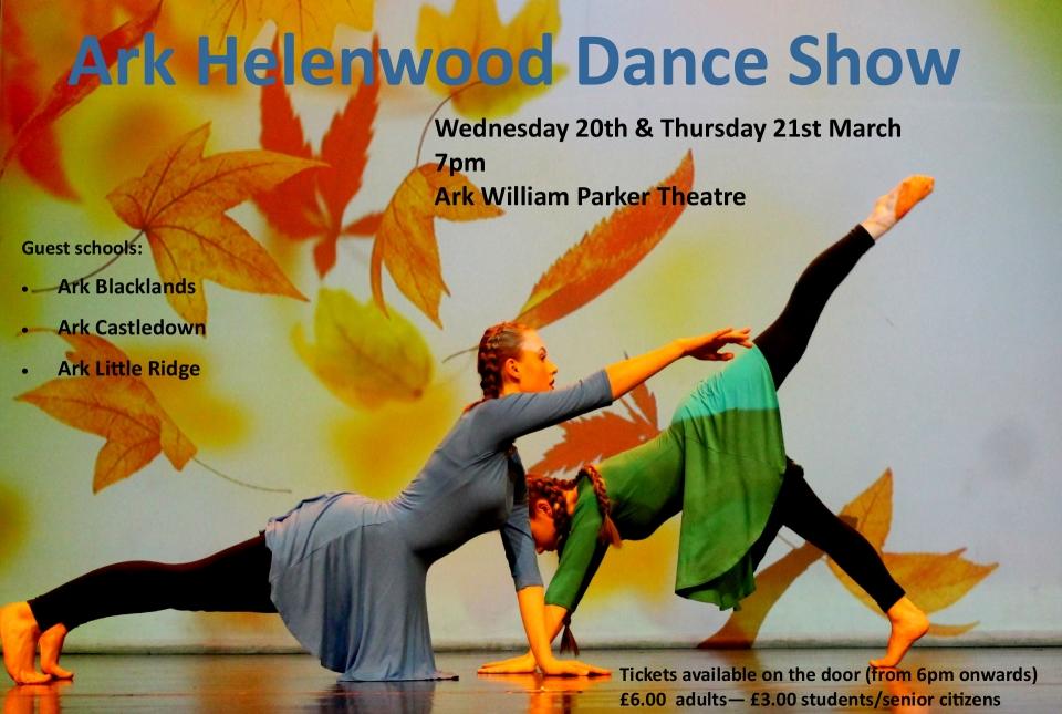 Ark Helenswood Dance Show | Helenswood Academy