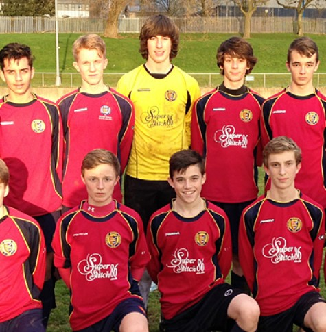 Year 10 Football team Dec 2013